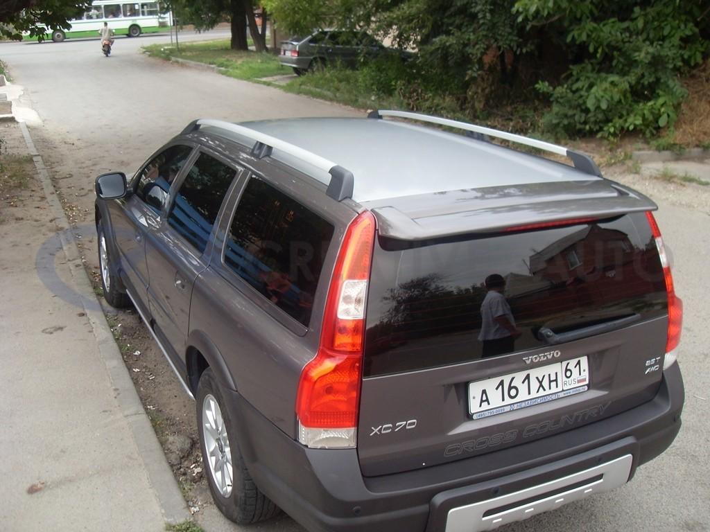 Алюминиевая крыша и молдинги Volvo CX70