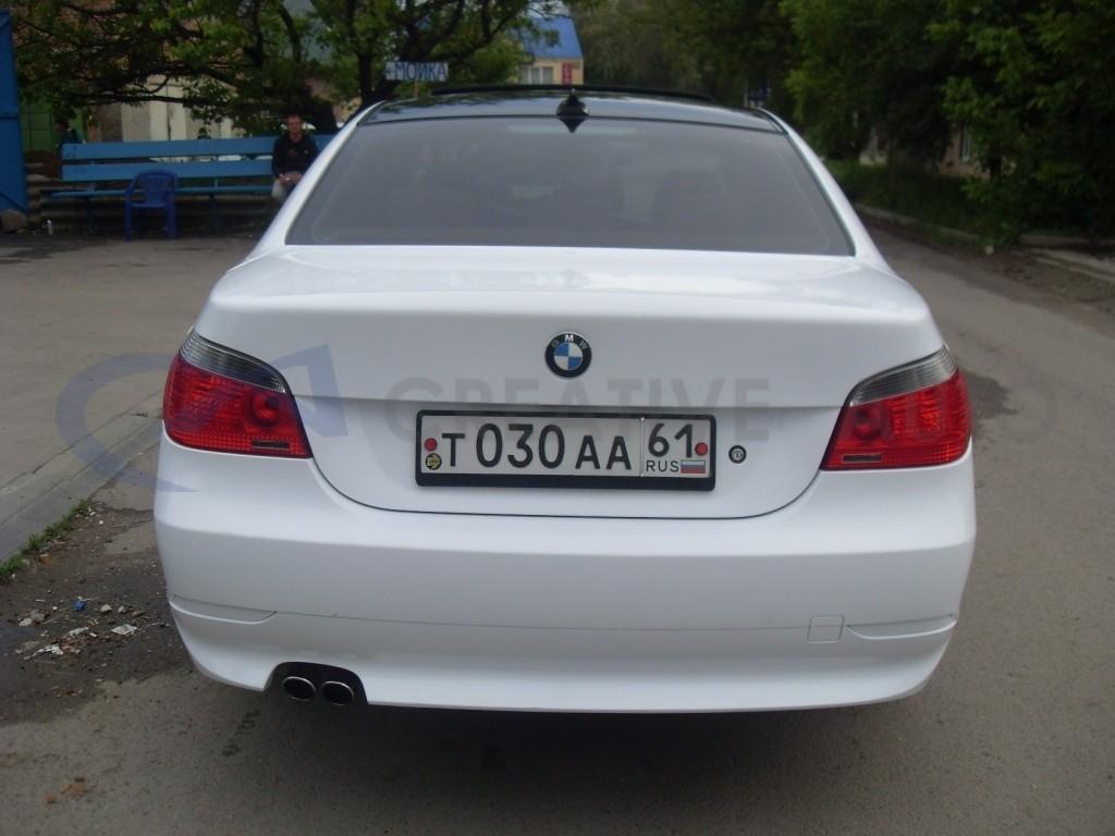 Белый глянец BMW 530