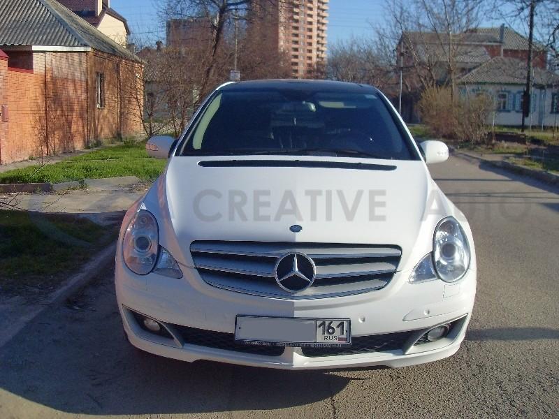 Белый глянец, перламутр Mercedes R350. Изображение 6