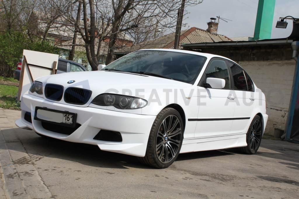 Белый мат BMW 325. Изображение 2