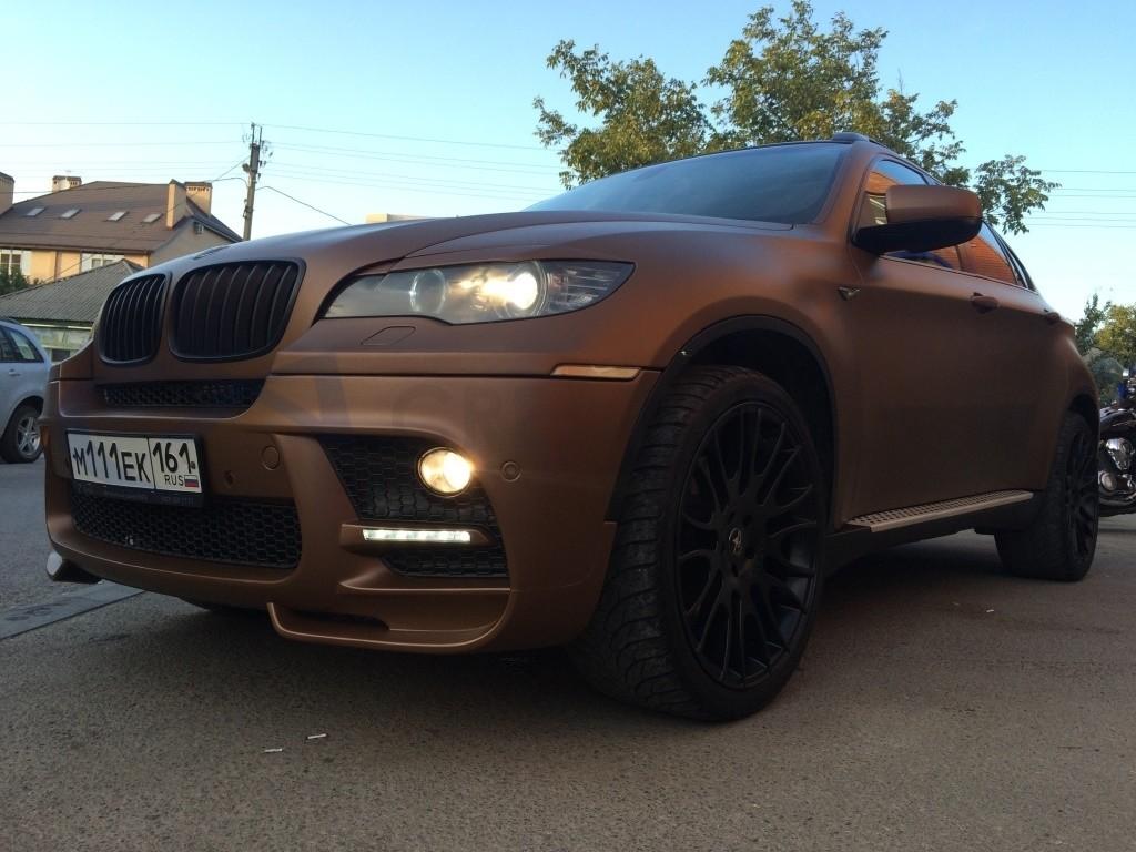 BMW X6 Коричневая бронза мат