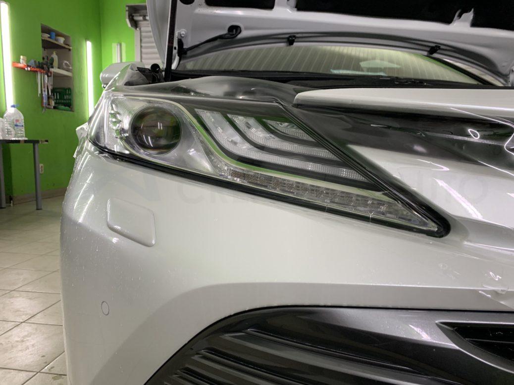 Бронь, защита, ламинация передних частей кузова Тойота Камри