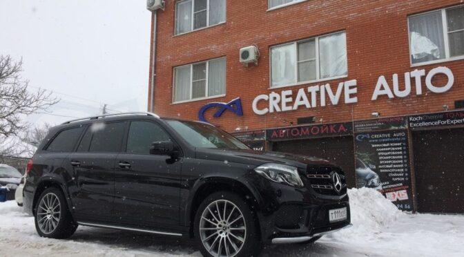 Бронирование пленкой HEXIS BODYFENCE Mercedes GLS