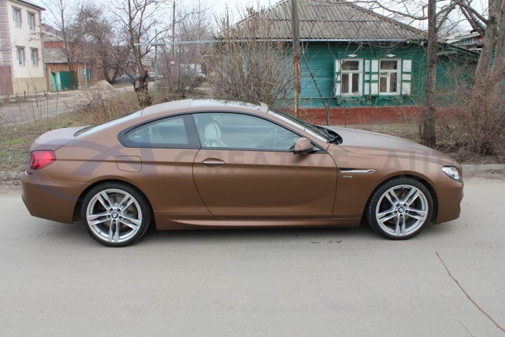 Бронзовый мат BMW 650