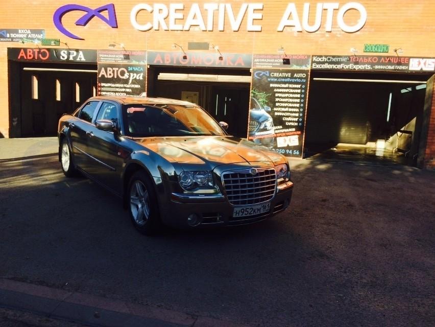 Черный хром Chrysler 300С. Изображение 18