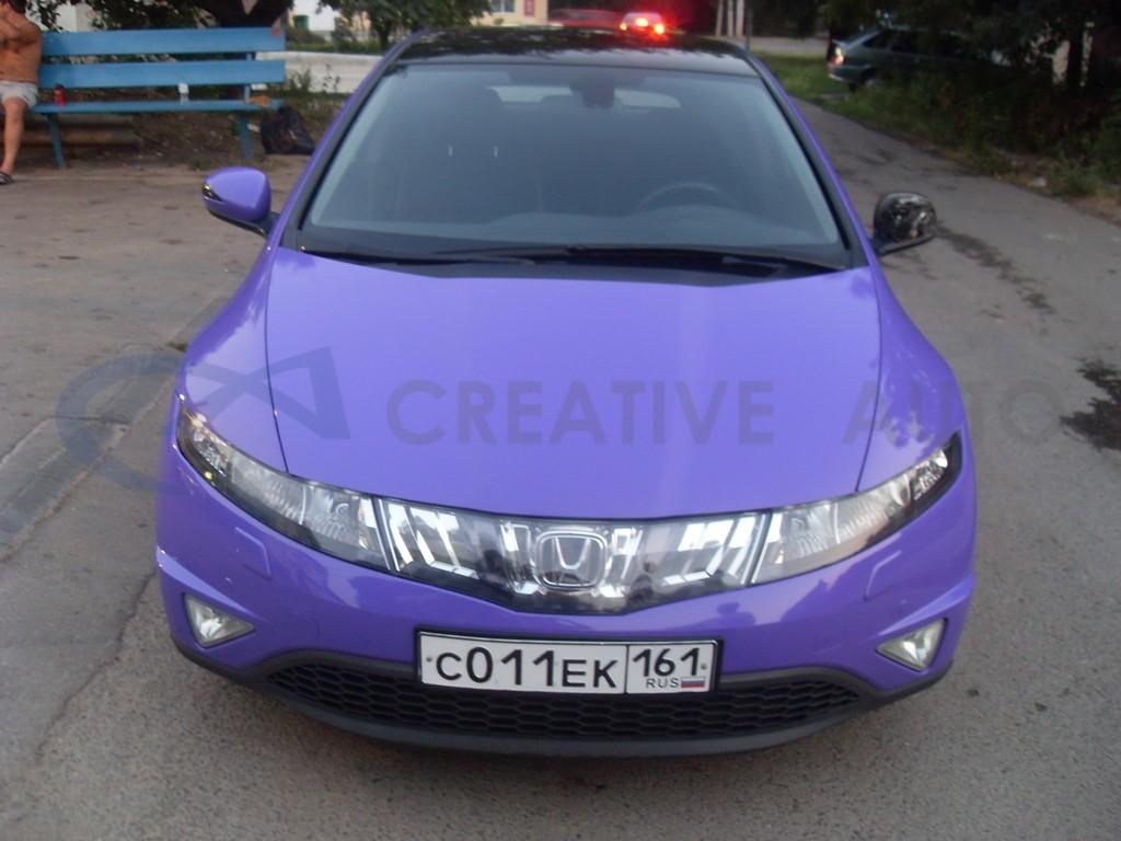 Фиолетовый глянец Honda Civic 5D. Изображение 8