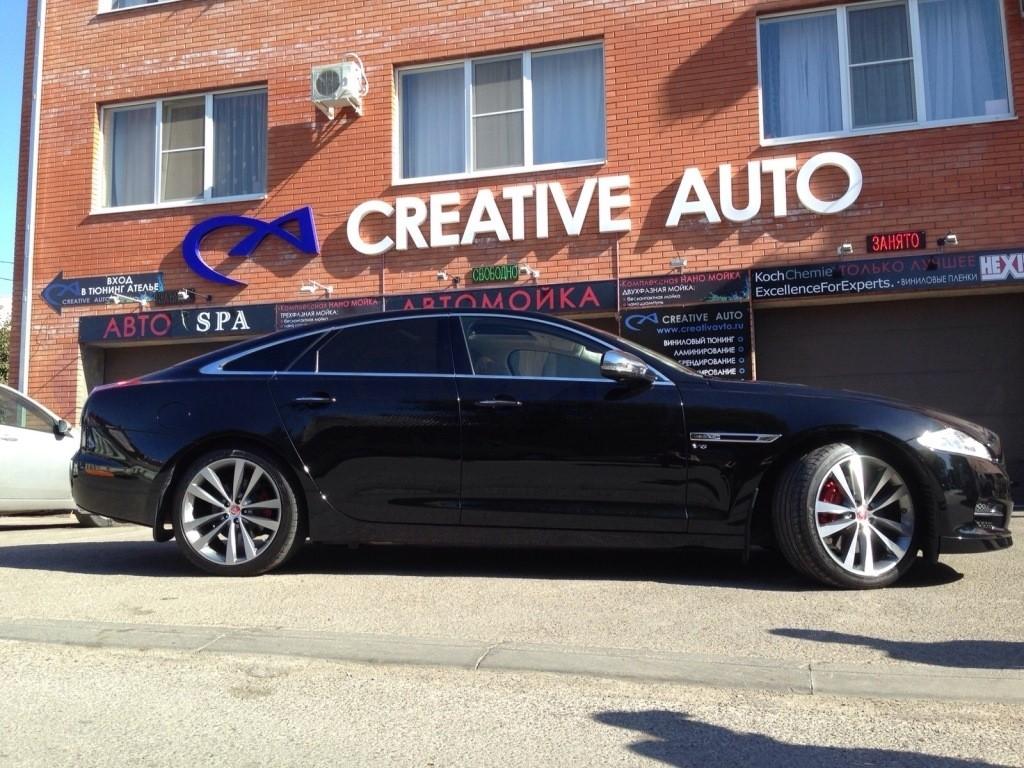 Полная бронь Hexis Bodyfence Jaguar XJ. Изображение 6