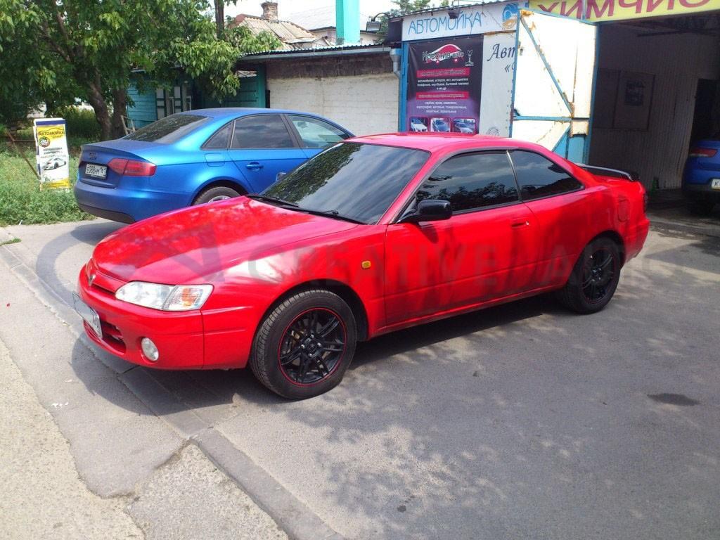 Красный глянец Toyota Corolla Levin. Изображение 3