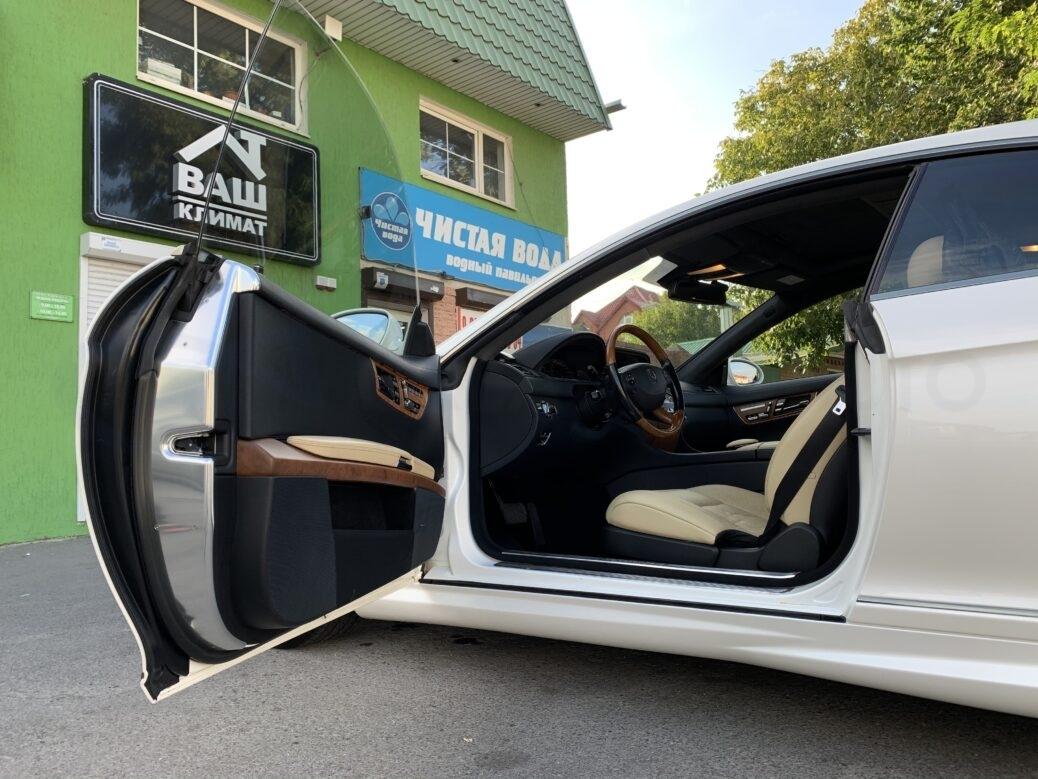 Полная защита кузова антигравийной пленкой Мерседес CL W 216
