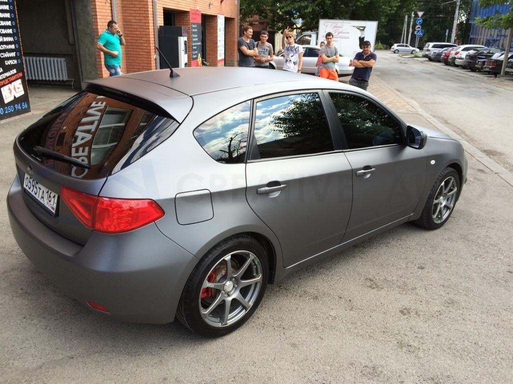 Серый мат антрацит  Subaru Impreza. Изображение 7