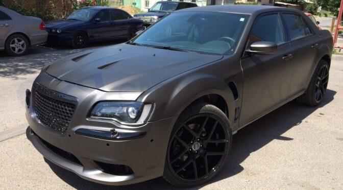 Серый мат антрацит Hexis Chrysler 300C
