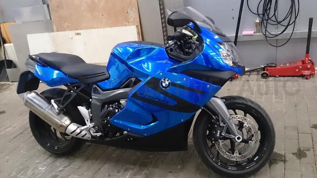 Синий хром BMW K1300S. Изображение 6