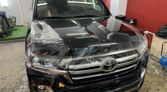 Тойота Ленд Крузер 200 полная защита кузова, керамика, детейлинг