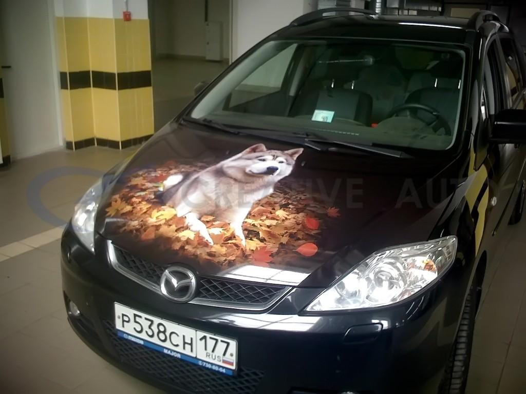 Винилография Mazda 5