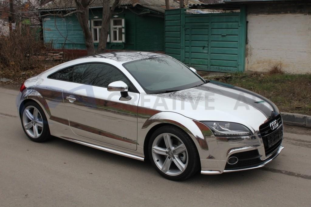 Зеркальный хром Audi TT. Изображение 4