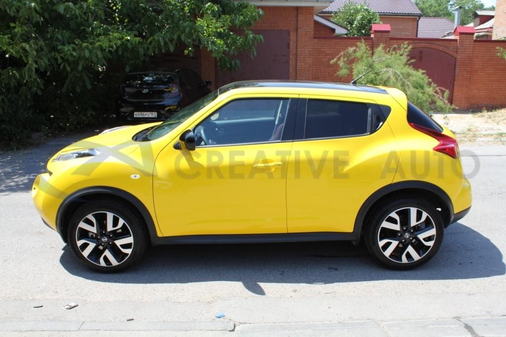 Желтый глянец Nissan Juke. Изображение 10