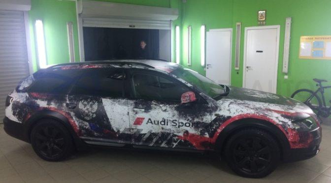 Камуфляж Audi A6 Allroad