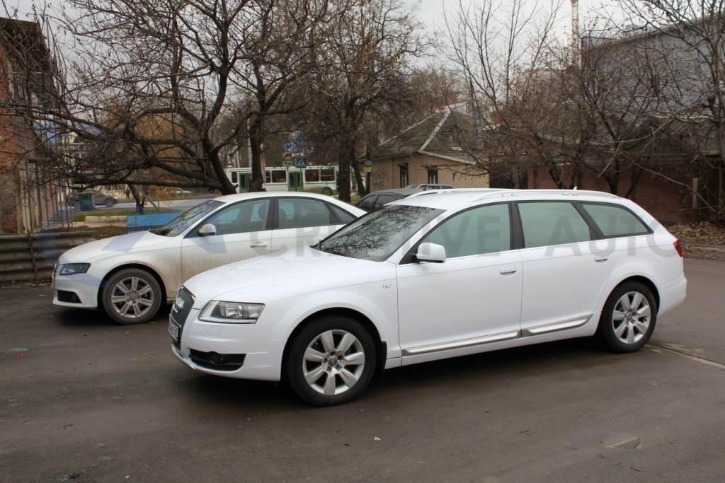 Белый глянец Audi Allroad. Изображение 8