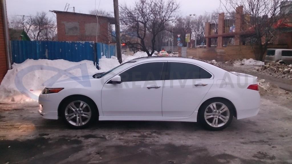 Белый глянец Honda Accord. Изображение 6