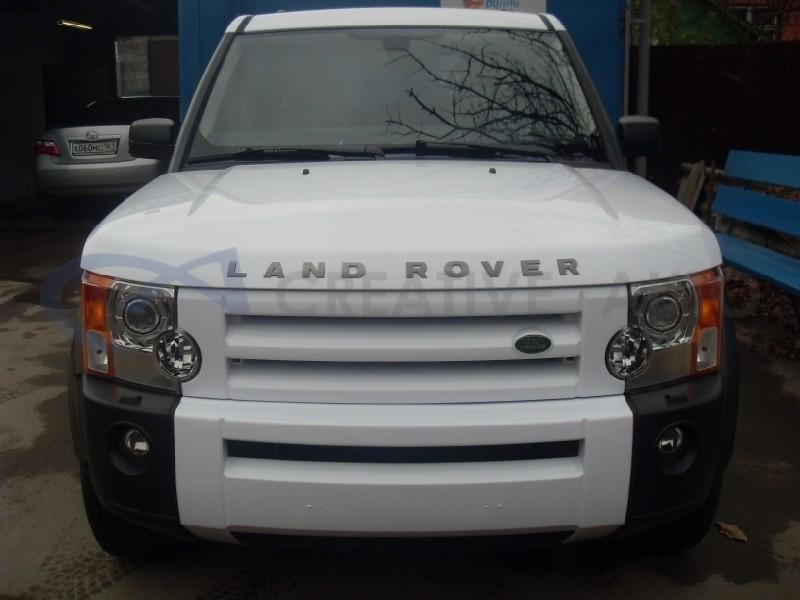 Белый глянец Land Rover Discovery. Изображение 3