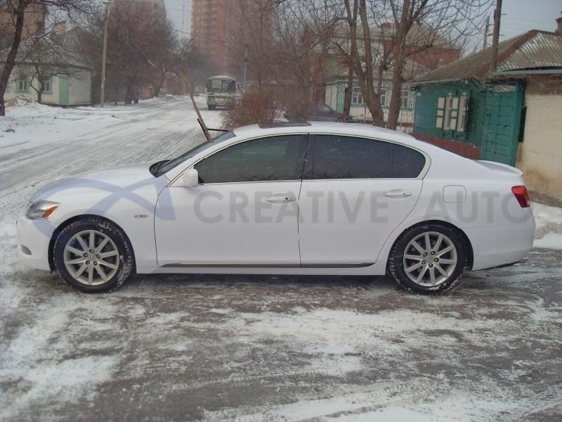 Белый глянец Lexus GS300. Изображение 10