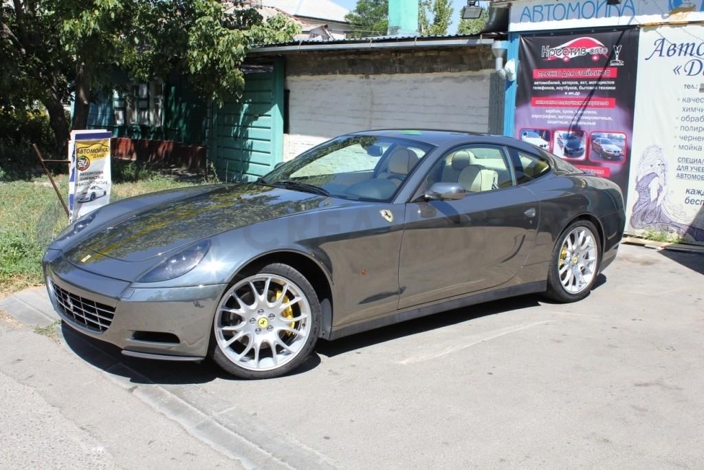 Черный хром Ferrari 612 Scaglietti. Изображение 10