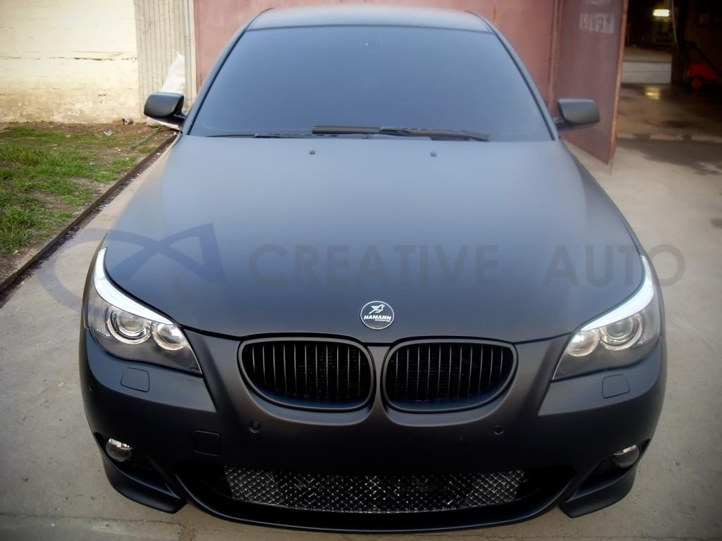 Черный мат BMW M5