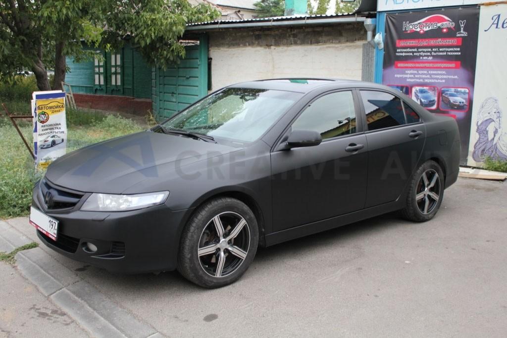 Черный мат Honda Accord. Изображение 1