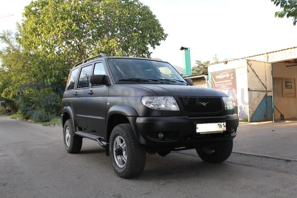 Черный мат Hexis Suptac УАЗ Патриот. Изображение 3