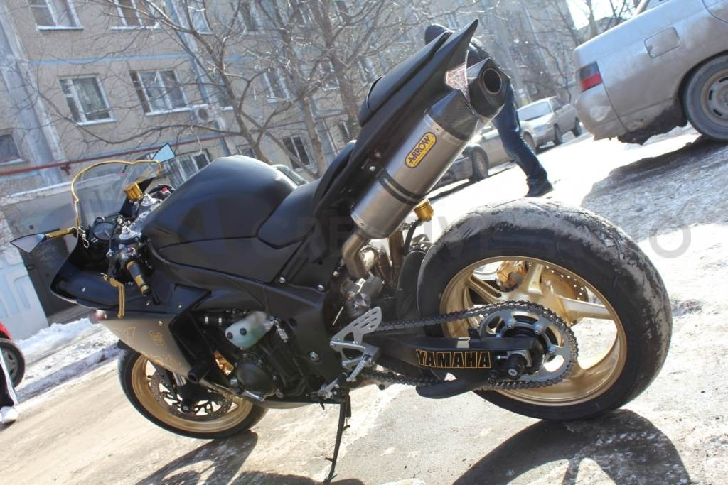Карбон Hexis Yamaha R1. Изображение 15