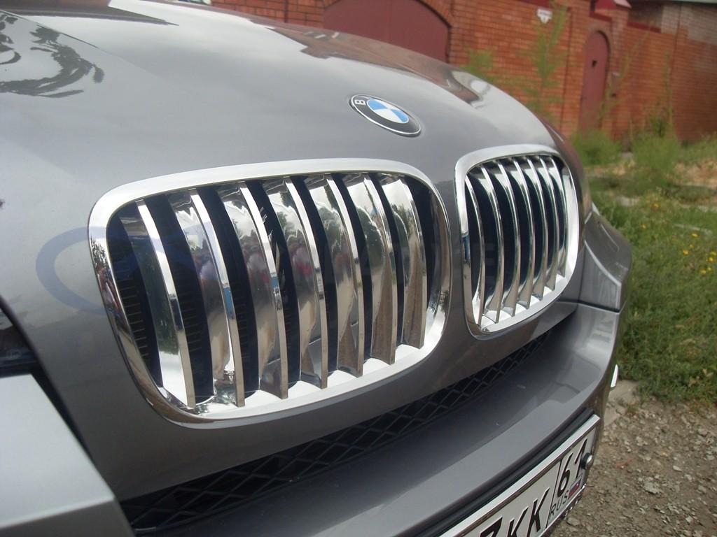 Хром зеркала, ручки, навесное BMW X6. Изображение 4