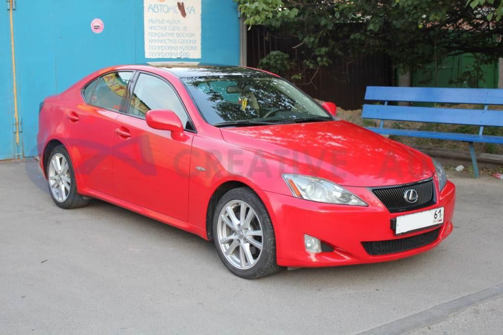 Красный глянец Lexus IS250. Изображение 2