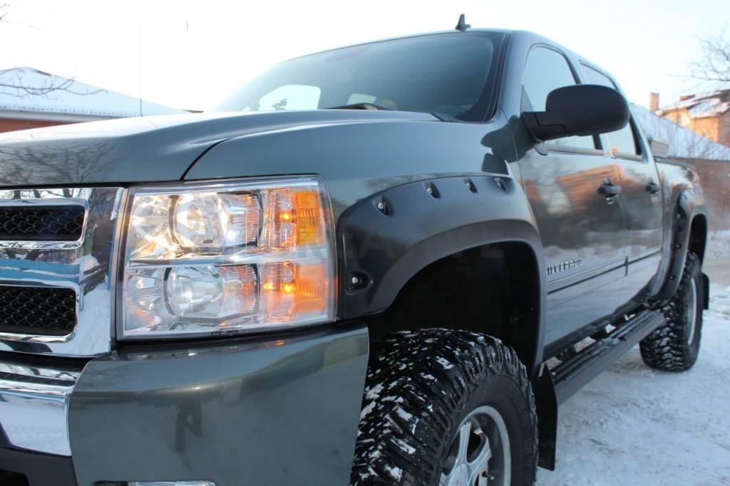 Ламинирование Chevrolet Silverado. Изображение 3