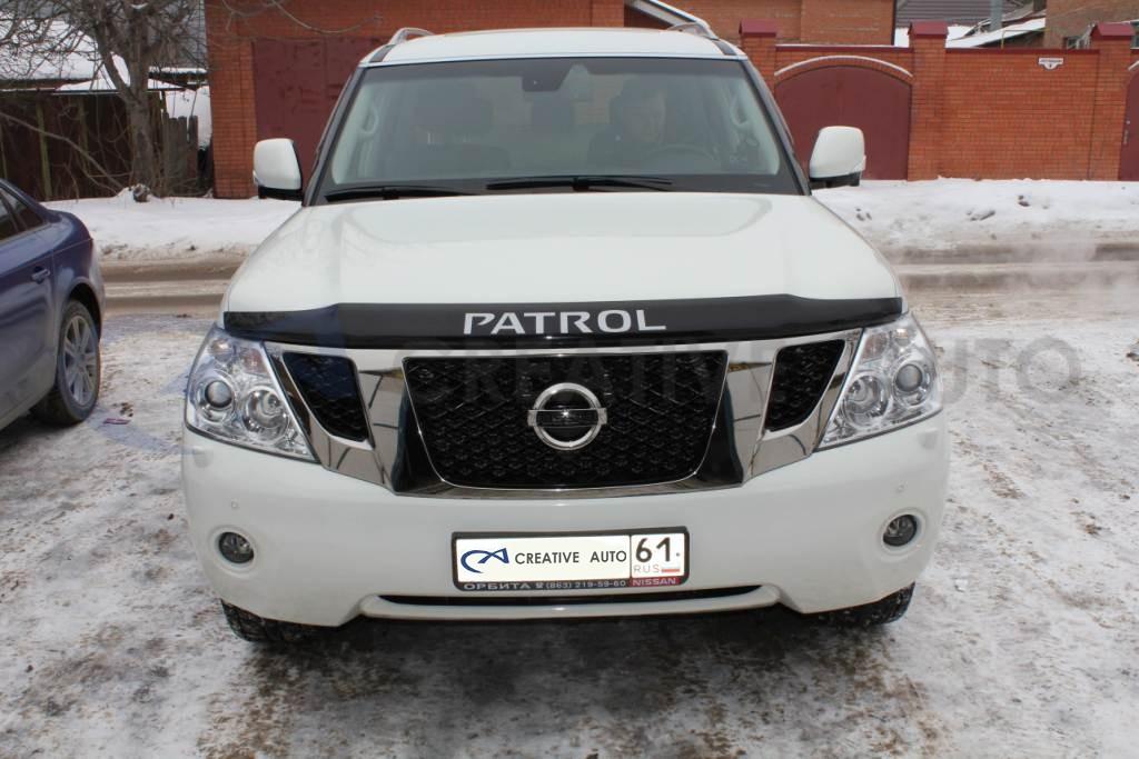 Ламинирование передней части кузова Nissan Patrol. Изображение 2