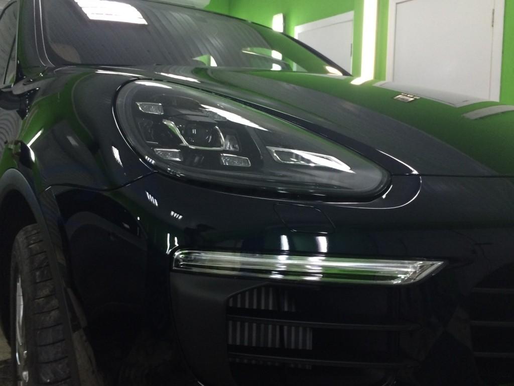 Ламинирование Hexis BODYFENCE Porsche Cayenne. Изображение 2