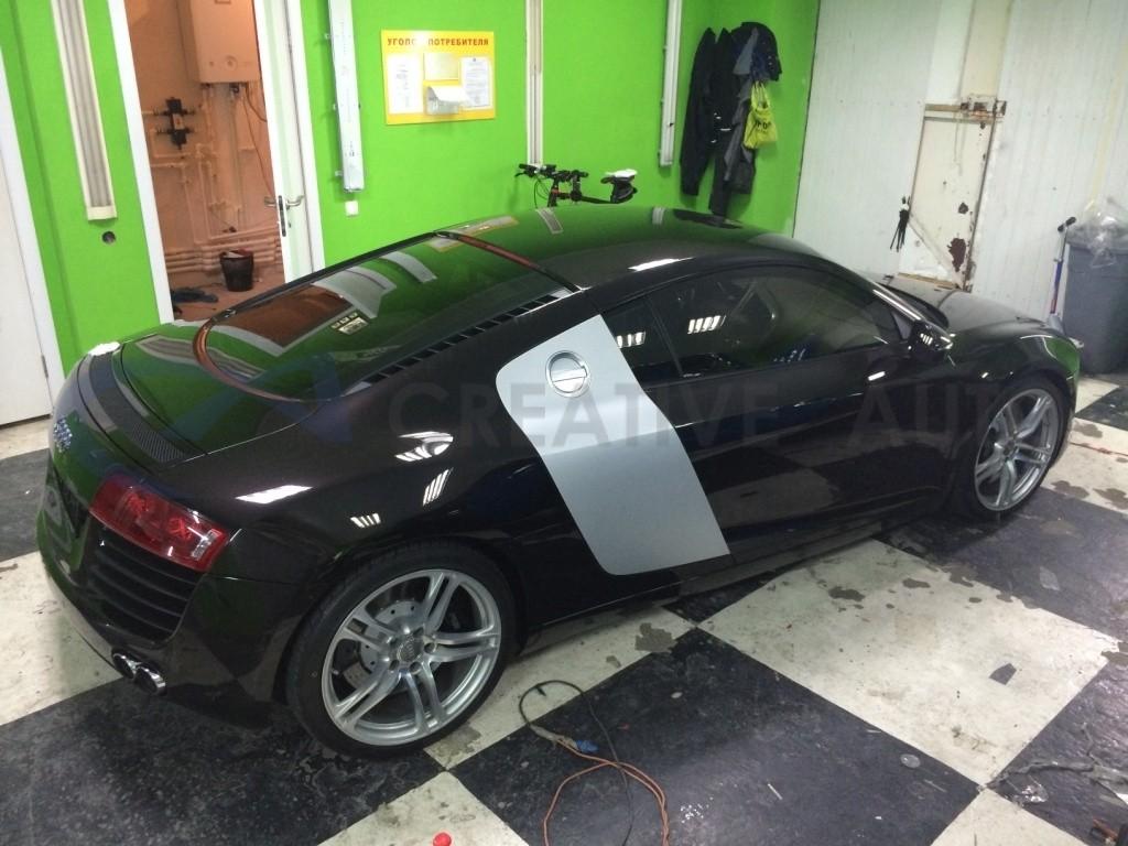 Неполированный алюминий Audi R8. Изображение 3