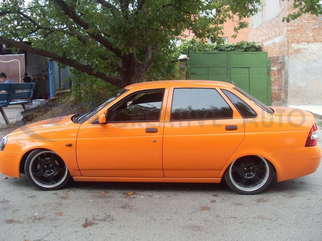 Оранжевый глянец LADA Priora. Изображение 11