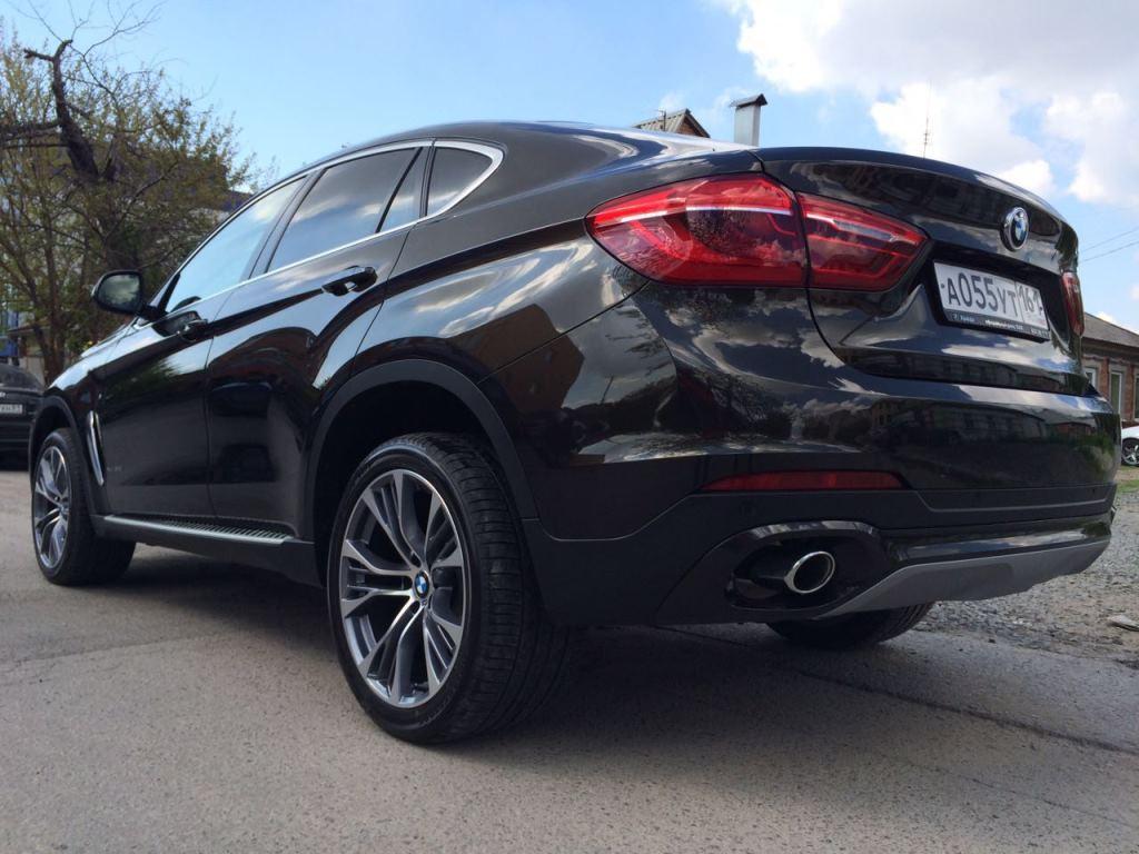 Полировка и нанокерамика, ламинирование передней части BMW X6