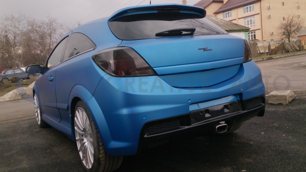 Прозрачный мат Opel Astra OPC. Изображение 8