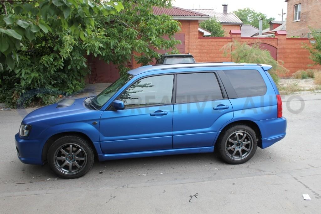 Синий мат Subaru Forester. Изображение 11