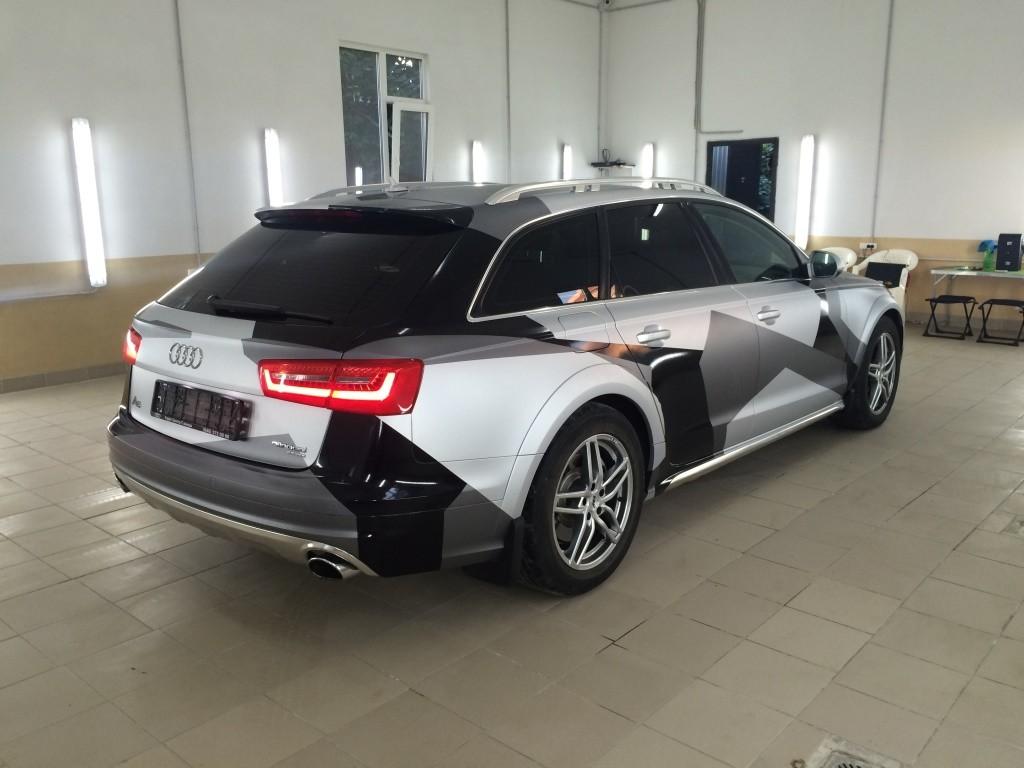 Стайлин Audi RS6