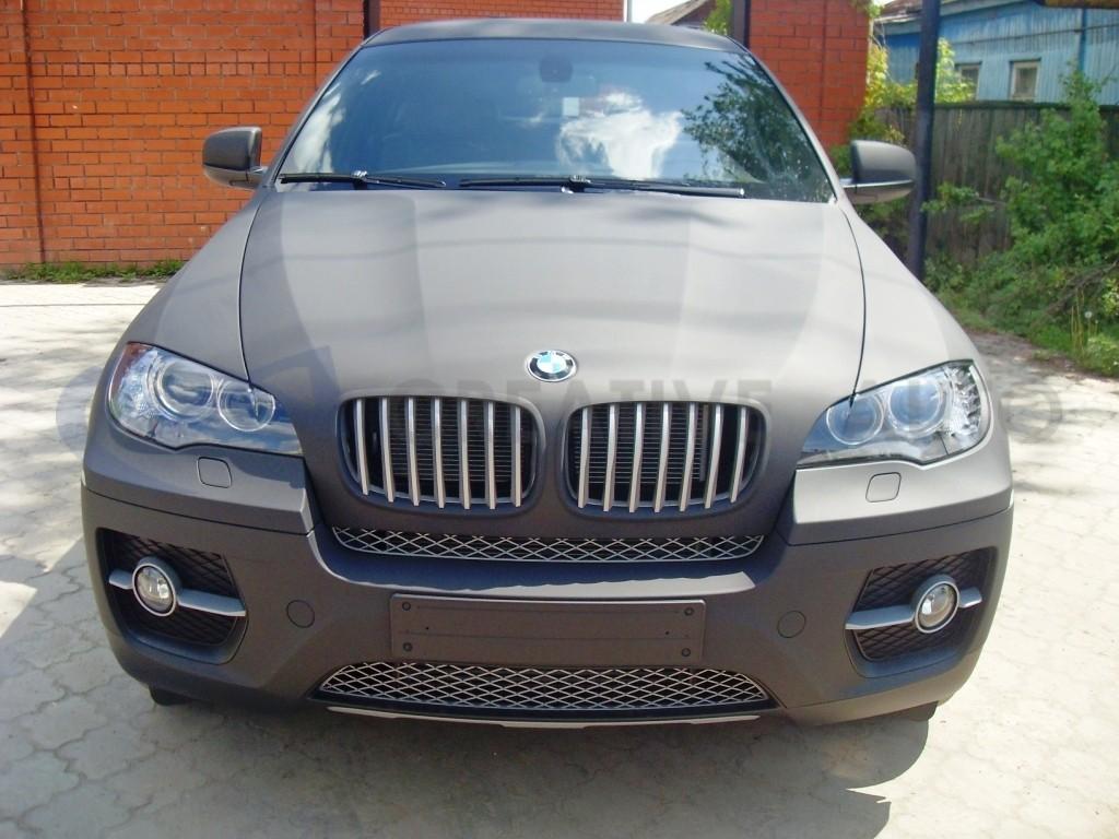 Супер черный мат HEXIS BMW Х6. Изображение 16