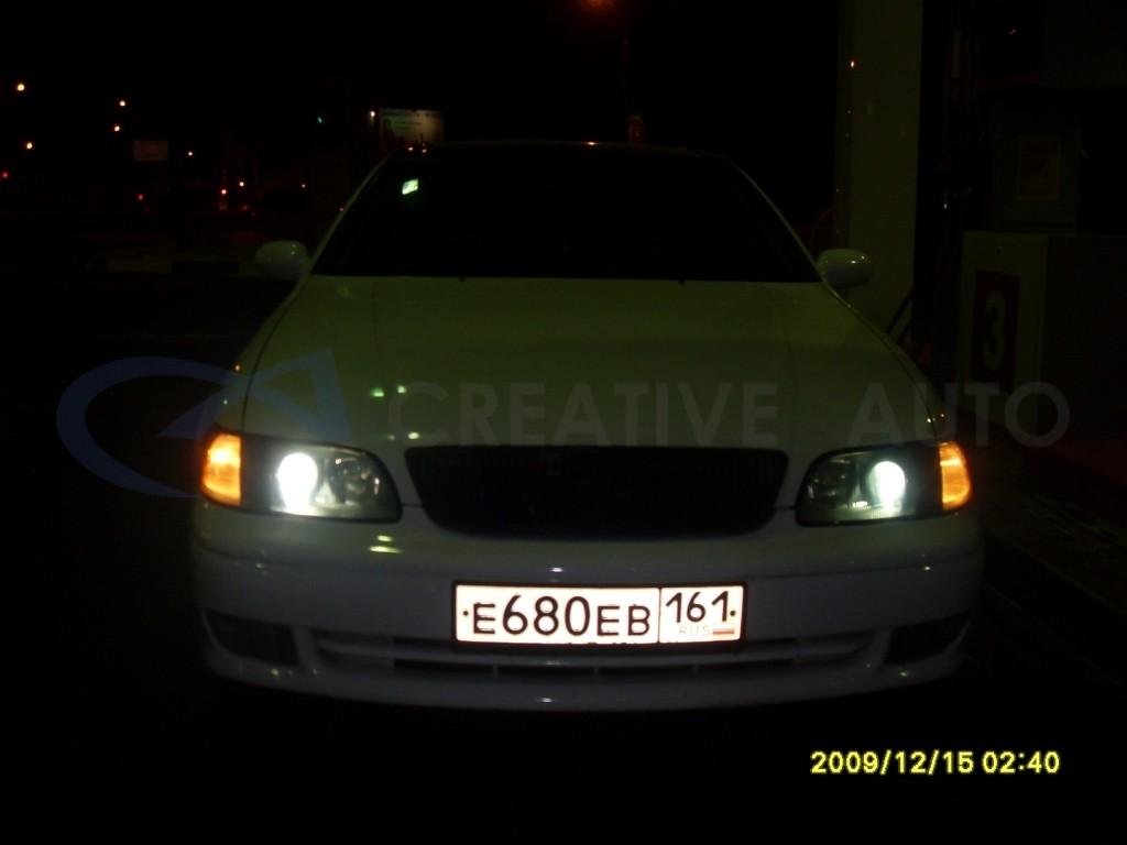 Тонировка оптики Lexus GS300. Изображение 2