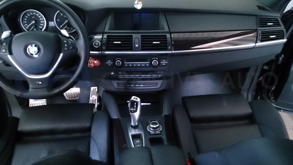 Трехфазная евромойка и химчистка BMW X6. Изображение 1