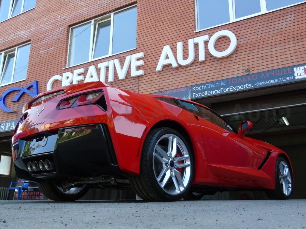 Трехфазная мойка Chevrolet Corvette. Изображение 6
