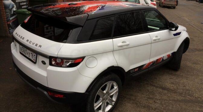 Винилография Land Rover Range Rover Evoque