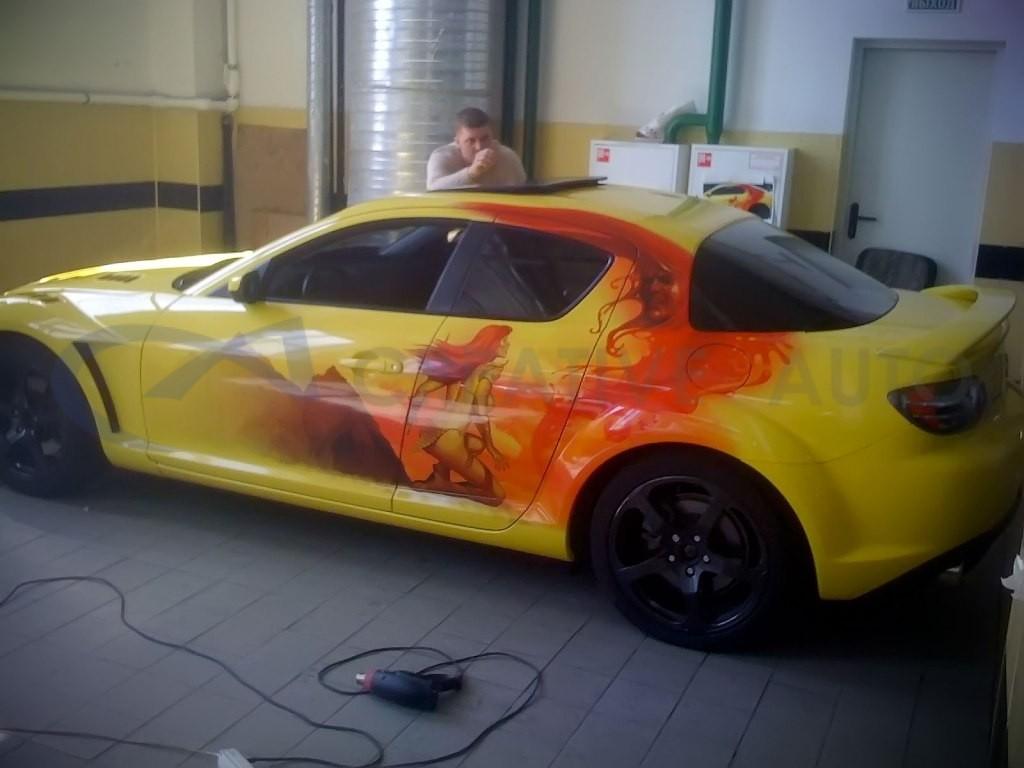 Винилография Mazda RX-8. Изображение 1