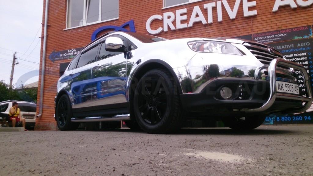 Зеркальный хром Subaru Tribeca. Изображение 13