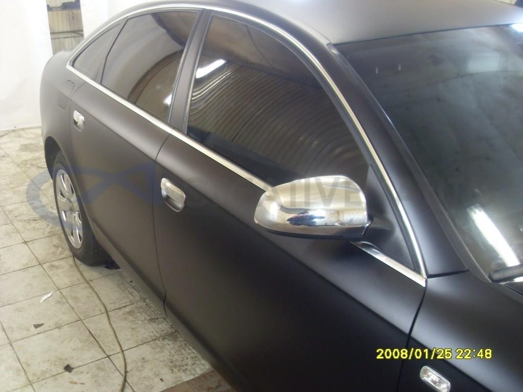 Зеркальный хром зеркала Audi A6. Изображение 1